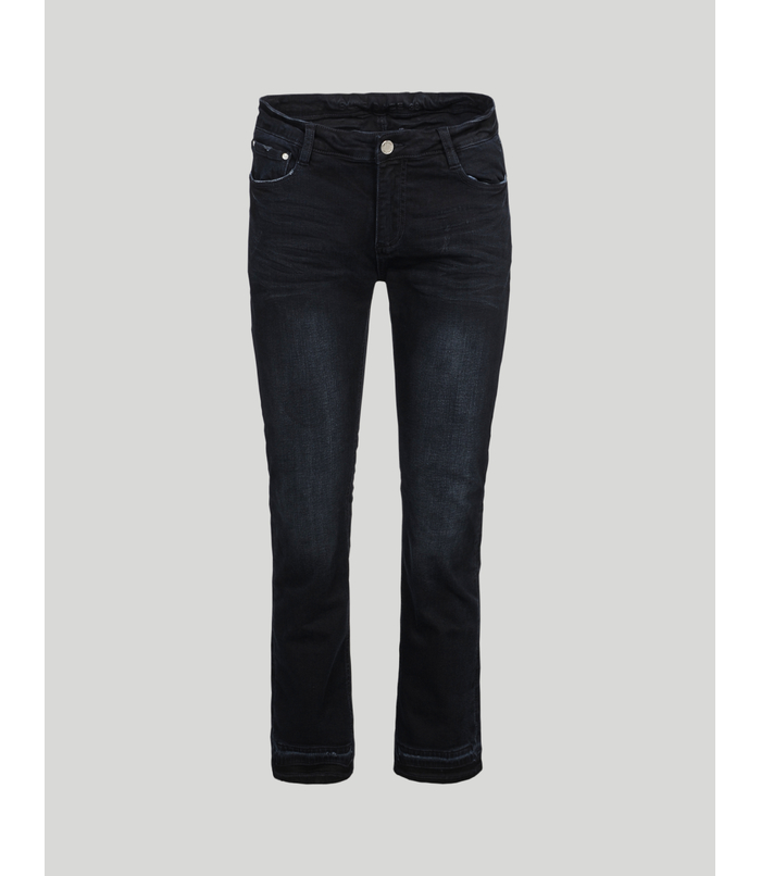 Cropped flair jeans