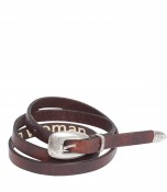 Leather Western Belt