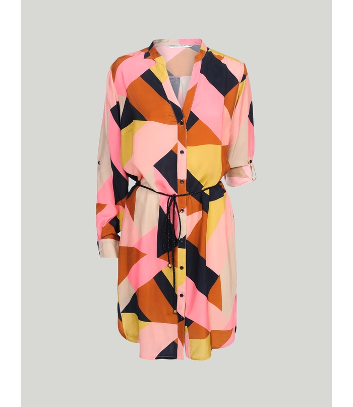 Long blouse with print