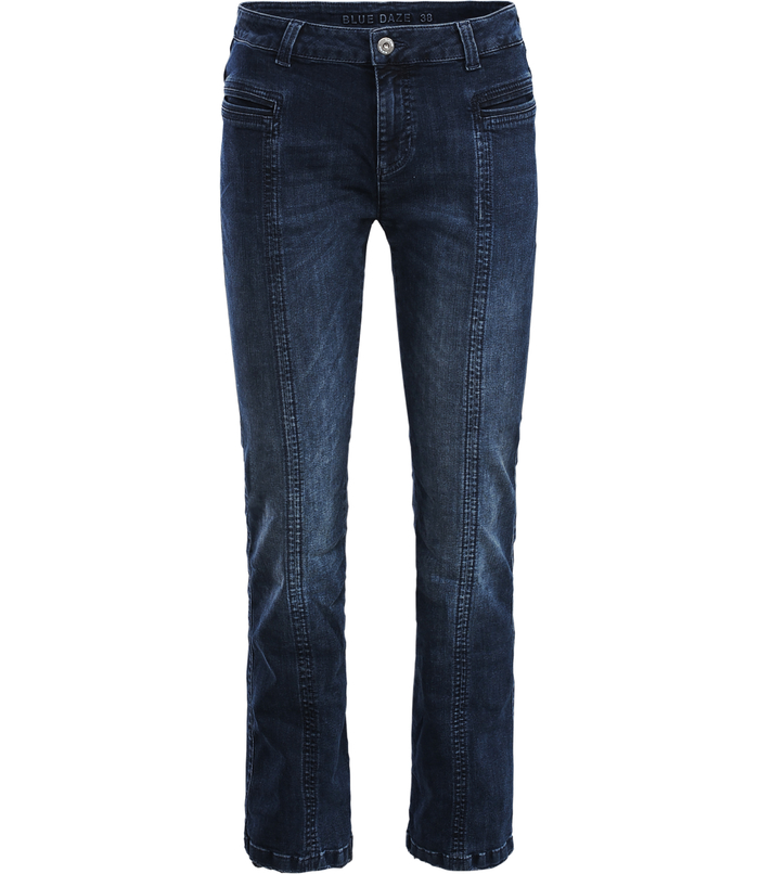 Light flared jeans