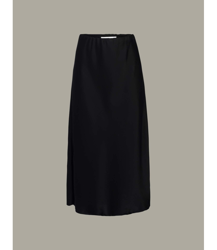 Satinlook skirt
