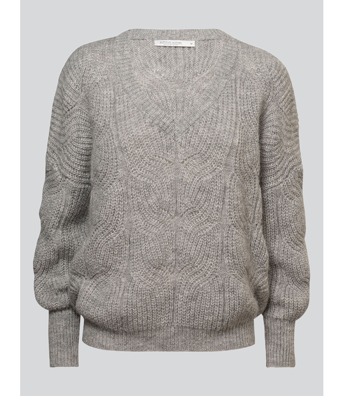 Wool blend knitted sweater