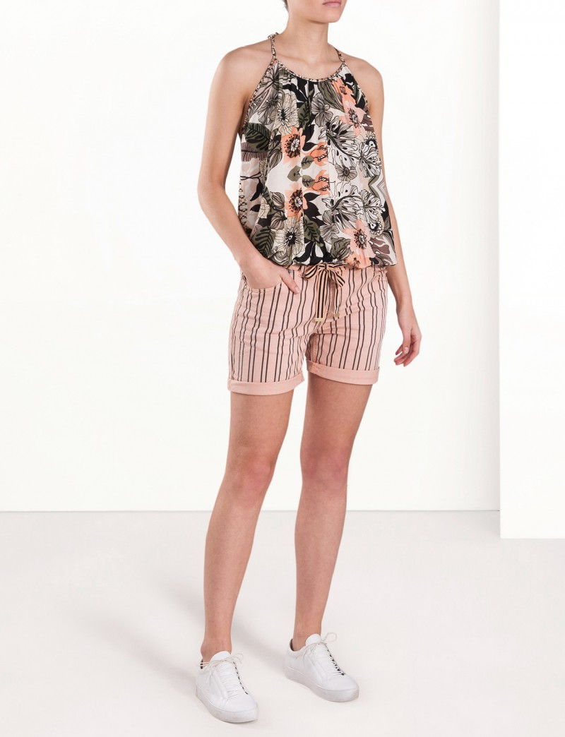 Singlet with print