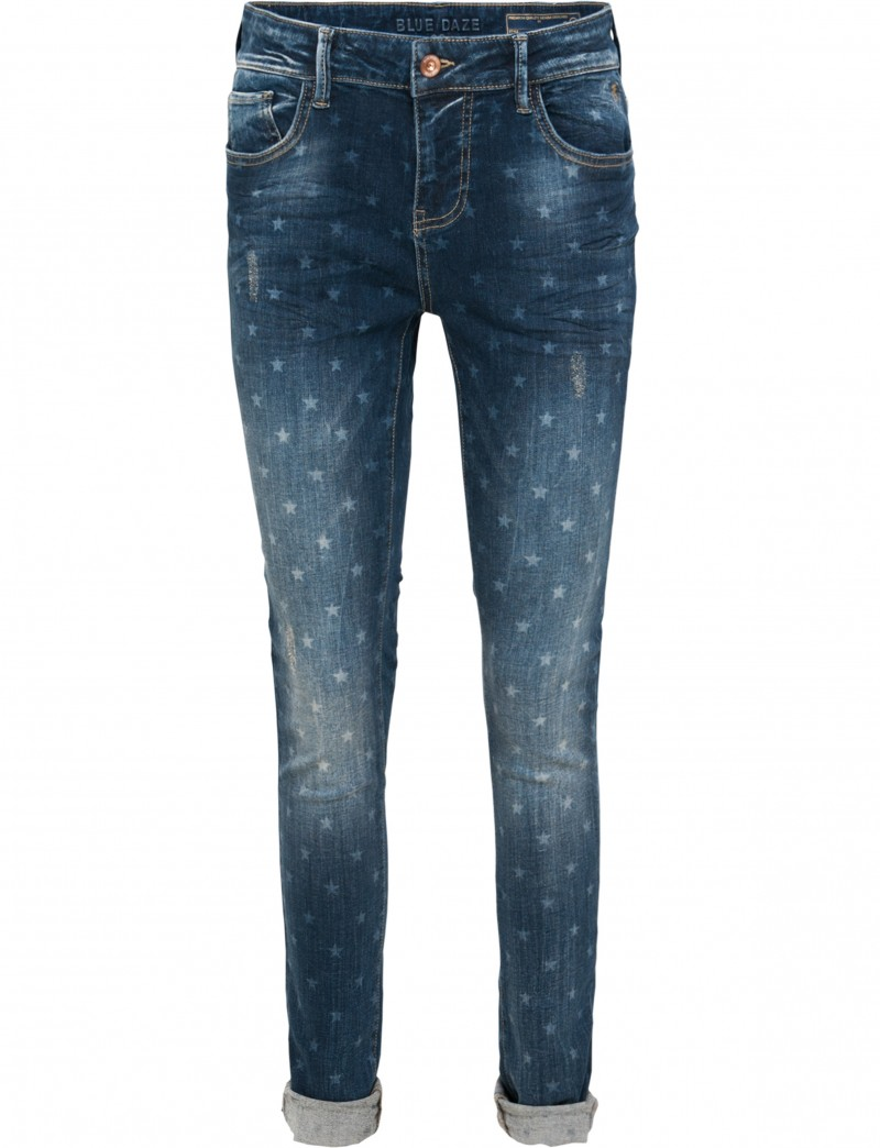 Jeans with print
