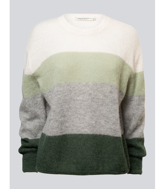 Oversized Wollmix-Pullover